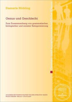 Genus und Geschlecht von Nübling,  Damaris