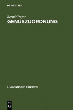 Genuszuordnung von Gregor,  Bernd