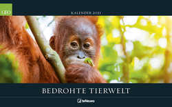 GEO Bedrohte Tierwelt 2021 – Wand-Kalender – Tier-Kalender – Poster-Kalender – 58×36