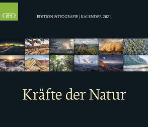 GEO Edition: Kräfte der Natur 2021 – Wand-Kalender – Poster-Kalender – 70×60