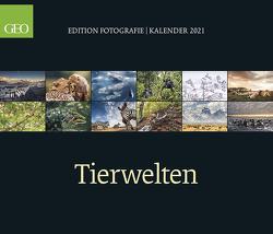 GEO Edition: Tierwelten 2021 – Wand-Kalender – Tier-Kalender – 70×60