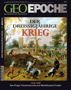 GEO Epoche / GEO Epoche 29/2008 – Der Dreißigjährige Krieg von Schaper,  Michael