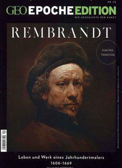 GEO Epoche Edition / GEO Epoche Edition 20/2019 – Rembrandt von Schaper,  Michael