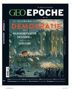 GEO Epoche / GEO Epoche mit DVD 110/2020 – Demokratien – Wie sie entstehen, wie sie scheitern! von Schröder,  Jens, Wolff,  Markus