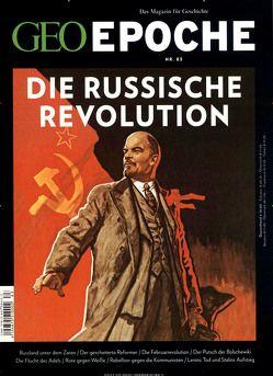 GEO Epoche (mit DVD) / GEO Epoche mit DVD 83/2017 – Oktoberrevolution von Schaper,  Michael