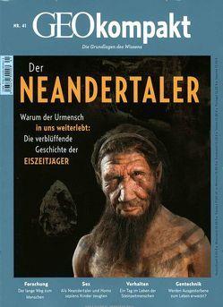 GEO kompakt / GEOkompakt 41/2014 – Der Neandertaler von Schaper,  Michael