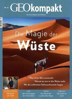 GEO kompakt / GEOkompakt 53/2017 – Die Magie der Wüste von Schaper,  Michael