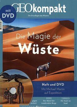 GEO kompakt / GEOkompakt mit DVD 53/2017 – Die Magie der Wüste von Schaper,  Michael