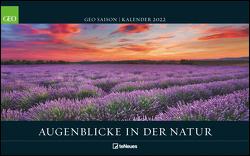 GEO SAISON Die Augenblicke in der Natur 2022 – Wand-Kalender – Reise-Kalender – Poster-Kalender – 58×36
