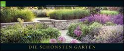 GEO SAISON: Die schönsten Gärten 2022 – Panaorama-Kalender – Wand-Kalender – Groß-Formate – 120×50