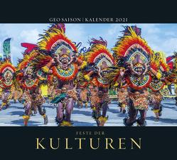 GEO SAISON: Feste der Kulturen 2021 – Wand-Kalender – Reise-Kalender – Poster-Kalender – 50×45