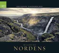 GEO SAISON: Im Licht des Nordens 2021 – Wand-Kalender – Reise-Kalender – Poster-Kalender – 50×45