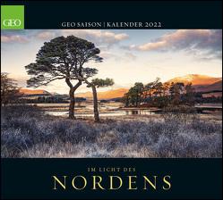 GEO SAISON: Im Licht des Nordens 2022 – Wand-Kalender – Reise-Kalender – Poster-Kalender – 50×45