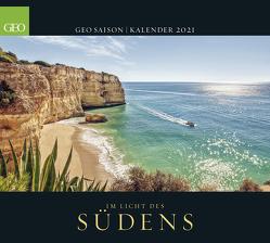 GEO SAISON: Im Licht des Südens 2021 – Wand-Kalender – Reise-Kalender – Poster-Kalender – 50×45