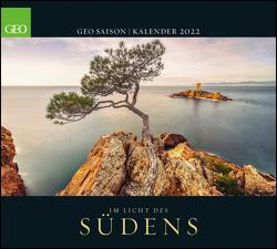 GEO SAISON: Im Licht des Südens 2022 – Wand-Kalender – Reise-Kalender – Poster-Kalender – 50×45