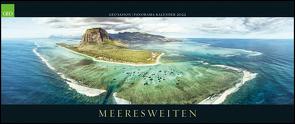 GEO SAISON Panorama: Meeresweiten 2022 – Panorama-Kalender – Wand-Kalender – Groß-Format – 120×50