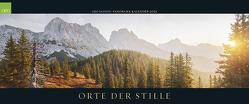 GEO SAISON Panorama: Orte der Stille 2021 – Panorama-Kalender – Wand-Kalender – Groß-Formate – 120×50
