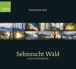 GEO Sehnsucht Wald 2021 – Wand-Kalender – Natur-Kalender – 60×55 von Schönberger,  Kilian