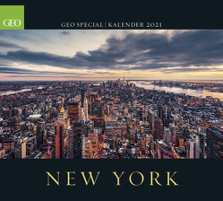 GEO SPECIAL: New York 2021 – Wand-Kalender – Reise-Kalender – Poster-Kalender – 50×45