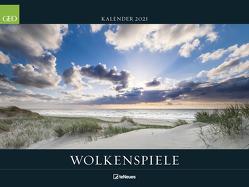 GEO Wolkenspiele 2021 – Wand-Kalender – Natur-Kalender – Poster-Kalender – 64×48