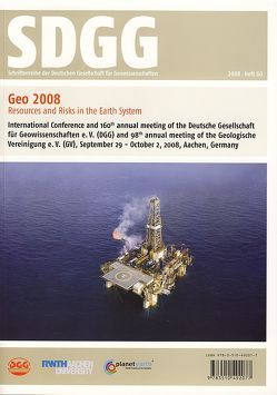 Geo2008 –  Resources and Risks in the Earth System von Kukla,  Peter, Littke,  Ralf