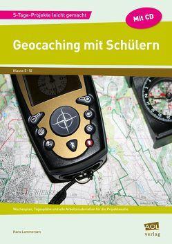 Geocaching mit Schülern von Lammersen,  Hans