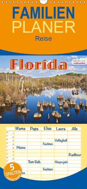 GEOclick calendar: Florida – Familienplaner hoch (Wandkalender 2020 , 21 cm x 45 cm, hoch) von Feske,  Klaus