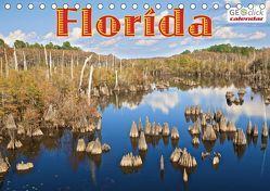 GEOclick calendar: Florida (Tischkalender 2019 DIN A5 quer) von Feske,  Klaus