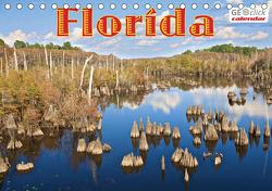 GEOclick calendar: Florida (Tischkalender 2021 DIN A5 quer) von Feske,  Klaus