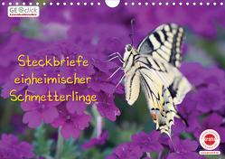 GEOclick Lernkalender: Steckbriefe einheimischer Schmetterlinge (Wandkalender 2020 DIN A4 quer) von Feske,  Klaus