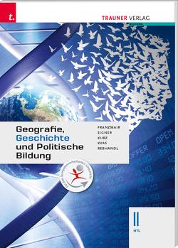 Geografie, Geschichte und Politische Bildung II HTL von Eigner,  Michael, Franzmair,  Heinz, Kurz,  Michael, Kvas,  Armin, Rebhandl,  Rudolf