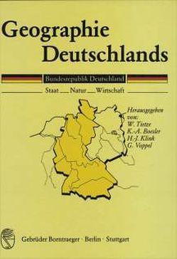 Geographie Deutschlands von Boesler,  Klaus A, Havlik,  D, Horstmann,  K, Hüttermann,  A, Klink,  Hans J, Tietze,  Wolf, Voppel,  Götz