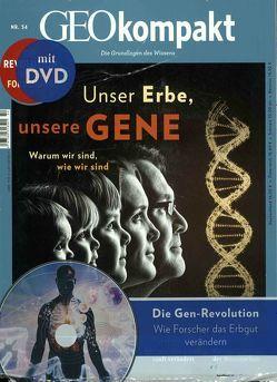 GEOkompakt / GEOkompakt mit DVD 54/2018 – Unser Erbe, unsere Gene von Schaper,  Michael