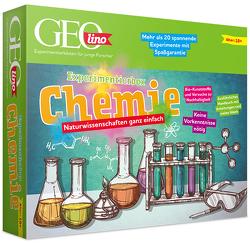 GEOlino – Experimentierbox Chemie von Kühn,  Monika, Schibschid,  Eva