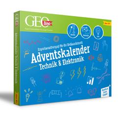 GEOlino Technik & Elektronik Adventskalender 2020 von Riegler,  Thomas