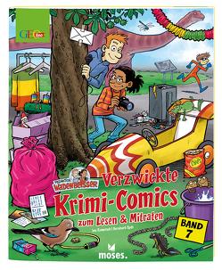 GEOlino Wadenbeißer – Verzwickte Krimi-Comics zum Lesen & Mitraten Band 7 von Rometsch,  Ina, Speh,  Bernhard
