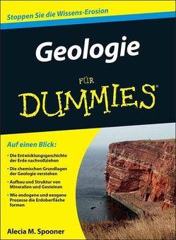 Geologie für Dummies von Hauser,  Ilona, Spooner,  Alecia M.