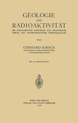 Geologie und Radioaktivität von Kirsch,  Gerhard