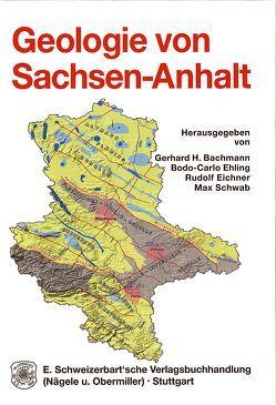 Geologie von Sachsen-Anhalt von Bachmann,  Gerhard H, Ehling,  Bodo C, Eichner,  Rudolf, Schwab,  Max