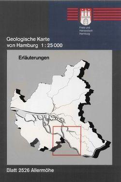 Geologische Karte von Hamburg – Blatt 2526 Allermöhe von Ehlers,  Jürgen