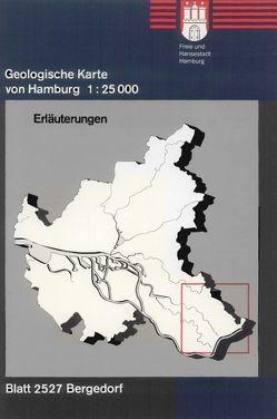 Geologische Karte von Hamburg – Blatt 2527 Bergedorf von Ehlers,  Jürgen