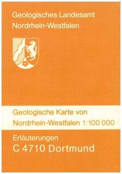 Geologische Karten von Nordrhein-Westfalen 1:100000 / Dortmund von Jansen,  Fritz, Kamp,  Heinrich von, Kühn-Velten,  Harald, Kunz,  Erwin, Mueller,  Horst, Paproth,  Eva