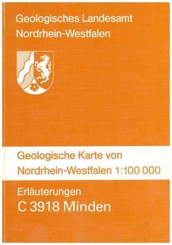 Geologische Karten von Nordrhein-Westfalen 1:100000 / Minden von Deutloff,  Otfried, Kühn-Velten,  Harald, Michel,  Gert, Skupin,  Klaus