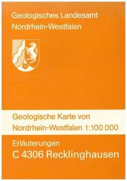 Geologische Karten von Nordrhein-Westfalen 1:100000 / Recklinghausen von Anderson,  Hans J, Bosch,  Marten van der, Braun,  Franz J, Drozdzewski,  Günter, Hilden,  Hanns D