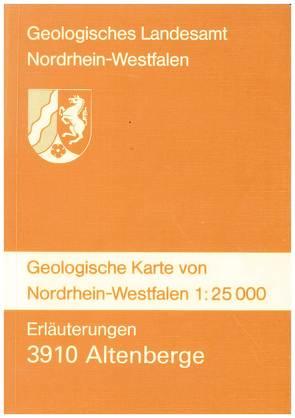 Geologische Karten von Nordrhein-Westfalen 1:25000 / Altenberge von Adams,  Ulrich, Dubber,  Hans J, Koch,  Michael, Staude,  Henner, Vogler,  Hermann