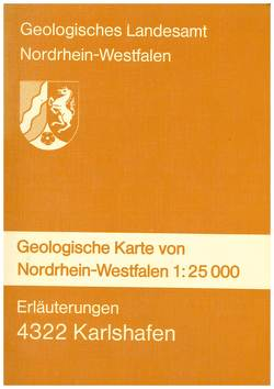 Geologische Karten von Nordrhein-Westfalen 1:25000 / Bad Karlshafen von Knapp,  Gangolf, Lepper,  Jochen, Möker,  Heinrich, Neumann-Redlin,  Christian