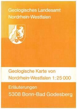 Geologische Karten von Nordrhein-Westfalen 1:25000 / Bonn-Bad Godesberg von Kegel,  Wilhelm, Rauff,  Herrmann