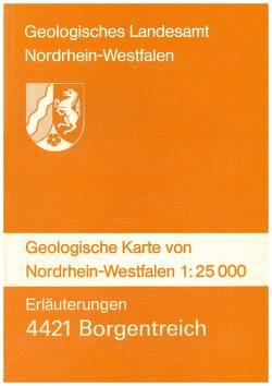 Geologische Karten von Nordrhein-Westfalen 1:25000 / Borgentreich von Dahm-Arens,  Hildegard, Jäger,  Bertold, Knapp,  Gangolf, Michel,  Gert