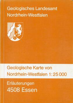Geologische Karten von Nordrhein-Westfalen 1:25000 / Essen von Hewig,  Ralf, Kalterherberg,  Jakob, Kamp,  Heinrich von, Pieper,  Bernhard