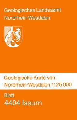 Geologische Karten von Nordrhein-Westfalen 1:25000 / Issum von Klostermann,  Josef, Nötting,  Joachim, Paas,  Wilhelm, Rehagen,  Hans W